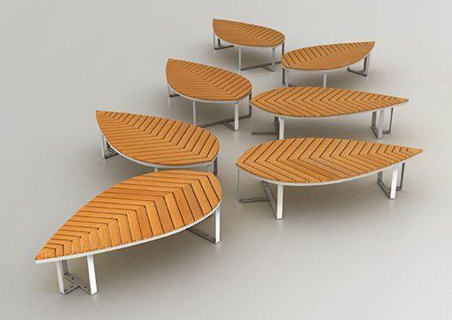 Muebles de madera con dise os org nicos for Diseno de muebles de madera