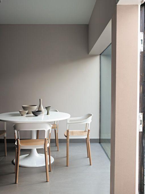Pinturas delicadas para interiores serenos - Pintura gris pared ...