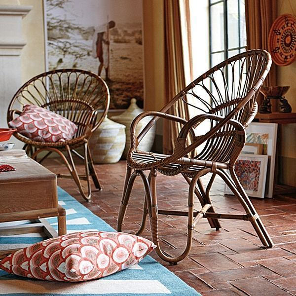 Muebles de caña \'In and Out\'.