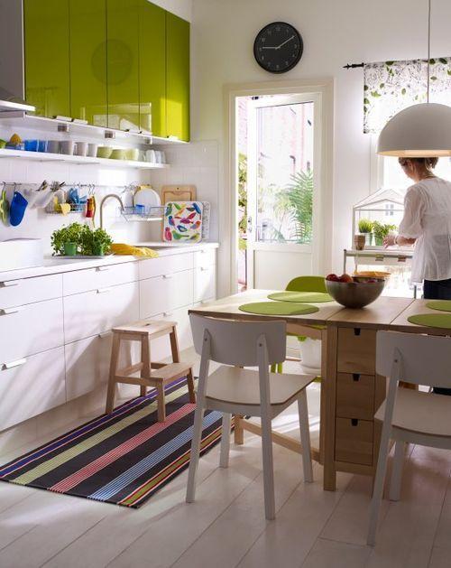 Decorar Cocinas Blancas   Decorar Cocinas Blancas Con Notas De Color Que Aviven Su Imagen