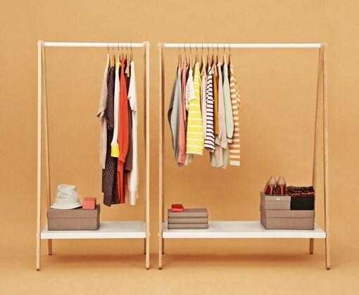 online precios de liquidación excepcional gama de estilos Un perchero extra en el dormitorio