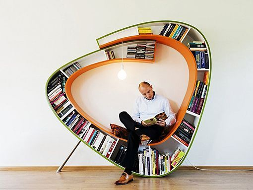 Creative Bookworm Bookcase by Atelier 010