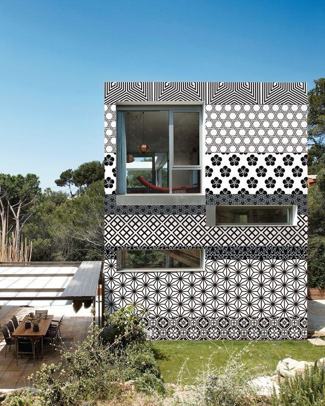 Papel pintado para exterior - Idea casa biancheria mestre ...
