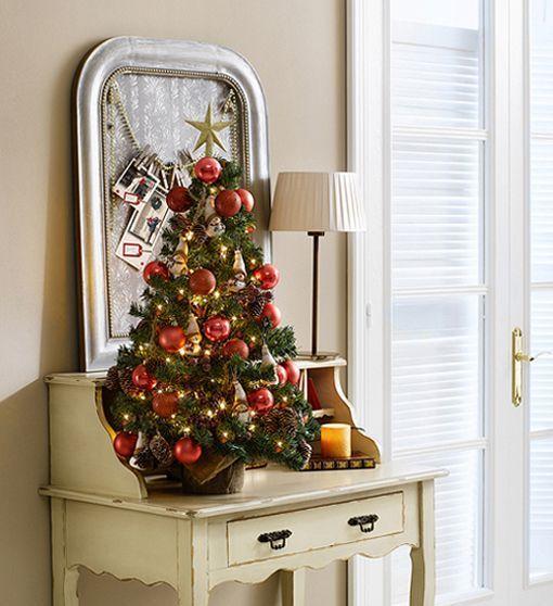 rbol de Navidad para espacios pequeos