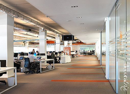 las oficinas centrales de ing direct en madrid