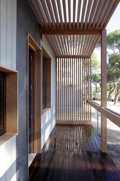 Parqu s ecol gicos para exterior de madera de eucalipto Balcones madera exterior
