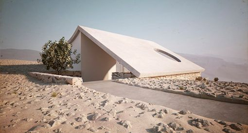 Casa virtual en el desierto by Studio Aiko