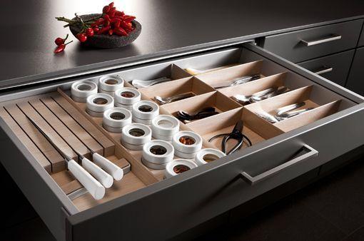 Cajones de cocina SieMatic, con premio de diseño