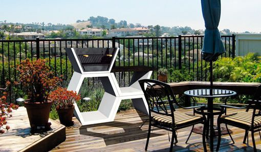 Barbacoas de dise o para terrazas modernas - Terraza con barbacoa ...