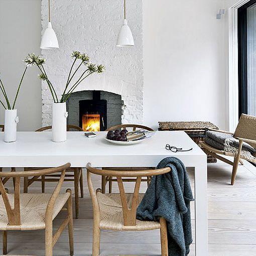 decoración de estilo nórdico en londres