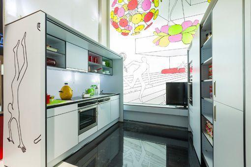 Muebles convertibles en una casa modular