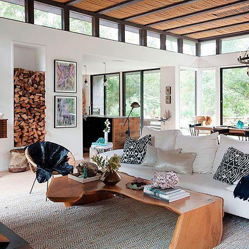 Una vivienda de estilo r stico vintage - Muebles estilo mediterraneo ...