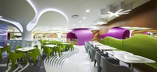 Amoje Food Capital by Karim Rashid