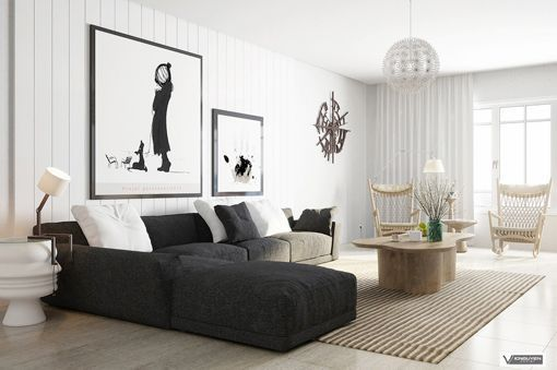 decoracion moderna nordica