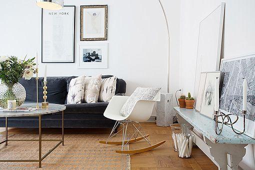 Apartamento En Blanco Con Muebles De Dise 241 O