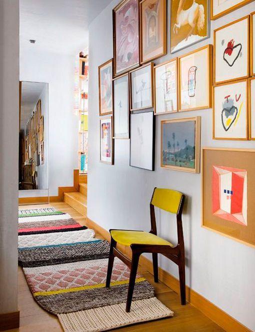 Alfombras estampadas y de colores - Alfombras pasillo ...