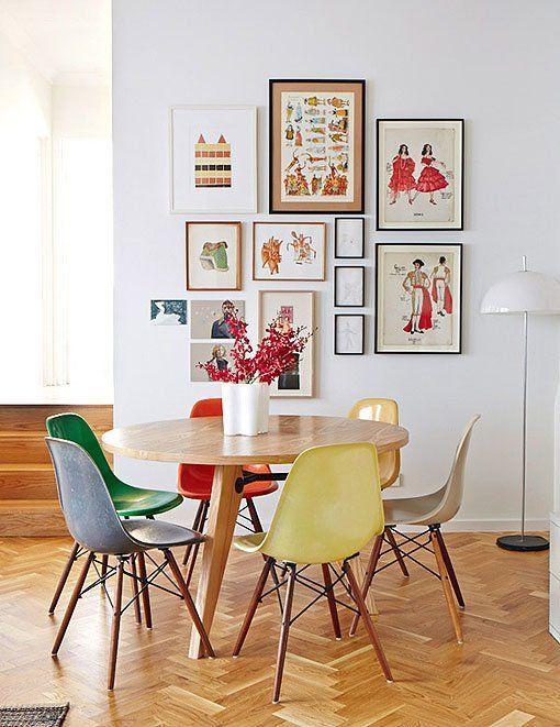 C mo decorar un sal n peque o con comedor for Mesas y sillas para comedor pequeno