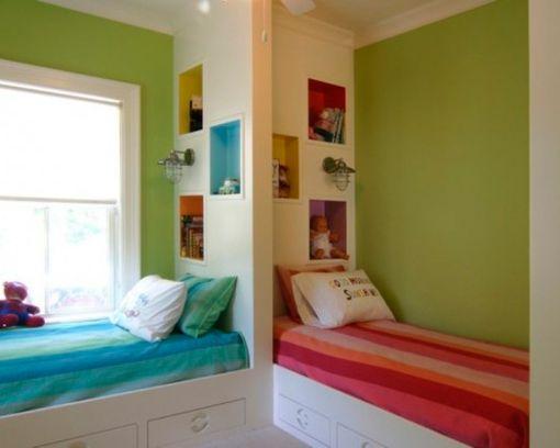 C mo decorar habitaciones infantiles compartidas por ni a for Decoracion habitacion compartida nino nina