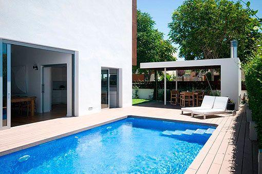 Casa Moderna Y Familiar Con Piscina