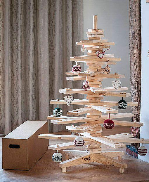 Arboles De Navidad Originales - Hacer-un-arbol-de-navidad-original