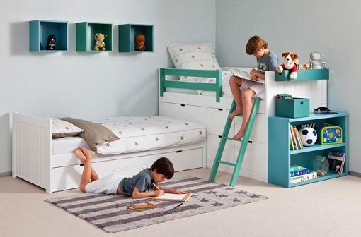 Muebles infantiles y juveniles modulares de Asoral