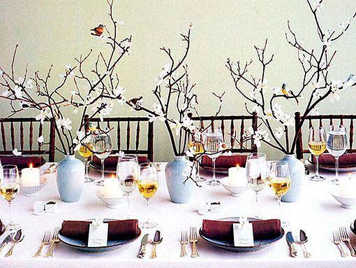 Mesas De Navidad No Tradicionales - Mesas-de-navidad-decoradas