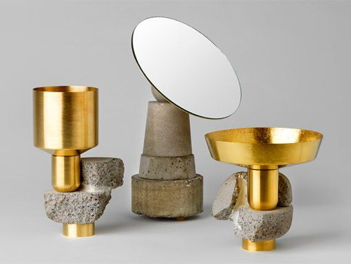 objetos de concreto y metal Considered Objects by David Taylor