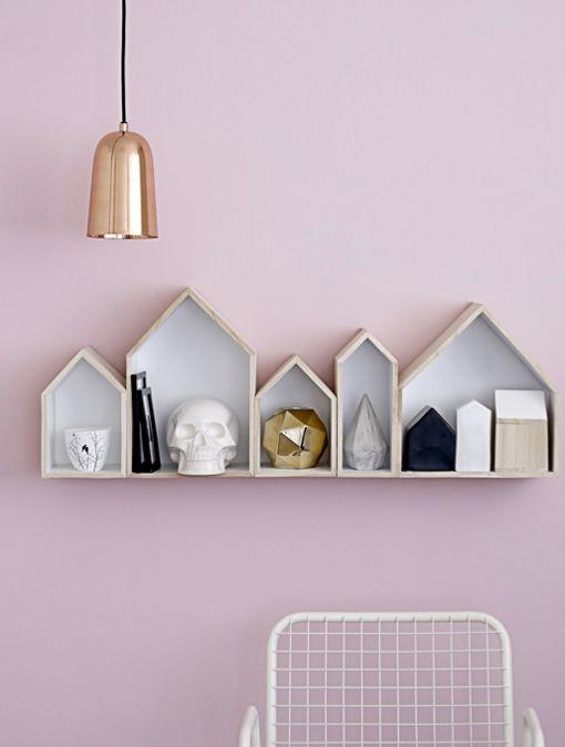 Cajas de madera para decorar y ordenar a la vez - Como decorar una pared con madera ...