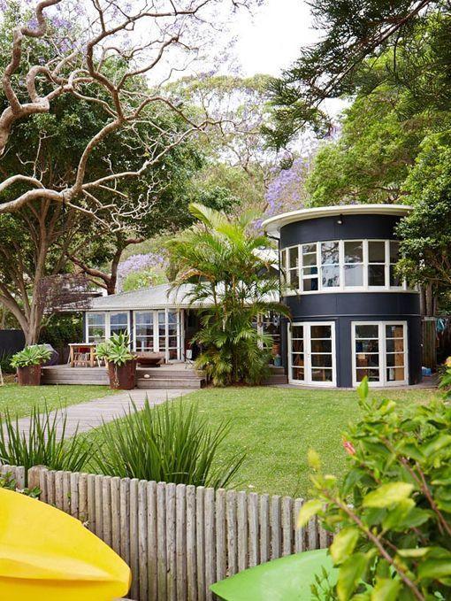 Una casa frente a la playa en Sidney