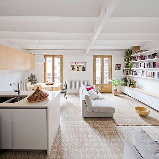 Reforma integral para unir dos pisos en una sola vivienda for Reforma de una casa