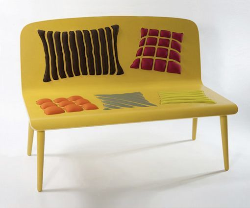 sofa amarillo poppins