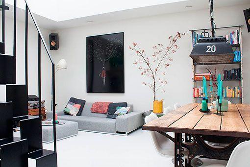Muebles reciclados para recrear decoraciones retro for Muebles reciclados para un estilo industrial