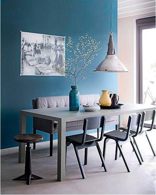 Pintar Paredes En Colores Invernales - Paredes-pintadas-de-azul