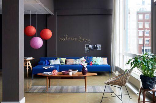 Pintar paredes en colores invernales Como pintar las paredes del salon