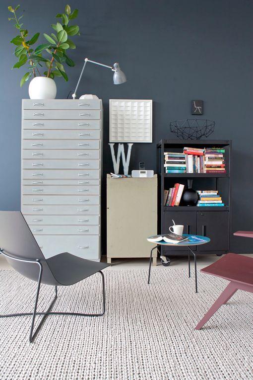 Pintar paredes en colores invernales - Muebles grises paredes color ...