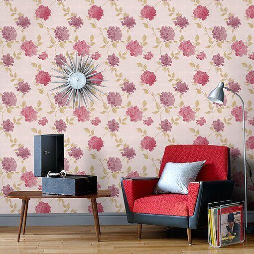 Elegant Papel Pintado Para Paredes: Motivos Florales