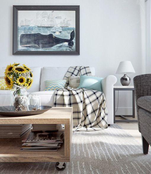 Un piso de 90 m2 con decoraci n r stica urbana for Casa moderna vintage
