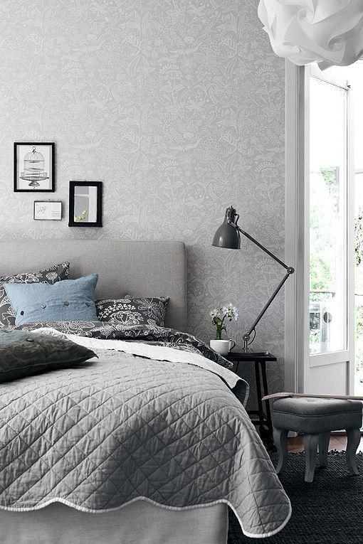 Dormitorios decorados en gris ambientes clidos y elegantes