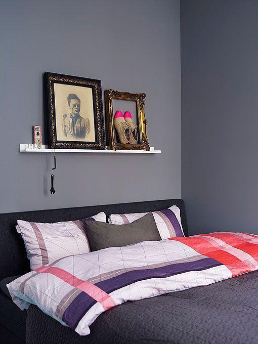 Dormitorios decorados en gris ambientes c lidos y elegantes - Ambientes de dormitorios ...