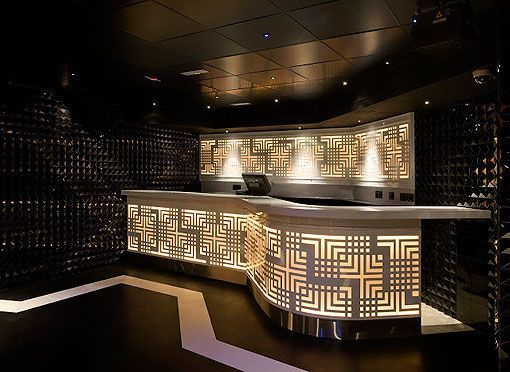 Barra Boutique  Blanche, de Le Boutique Club, discoteca en Madrid
