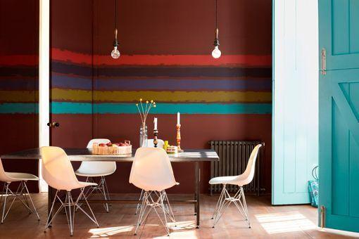 Pintura decorativa en paredes con efectos especiales
