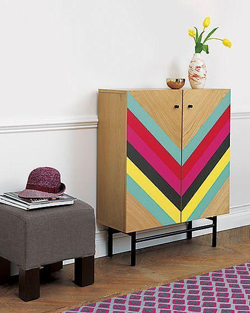 Vuelve la pintura decorativa en muebles - Pintura acrilica para muebles ...