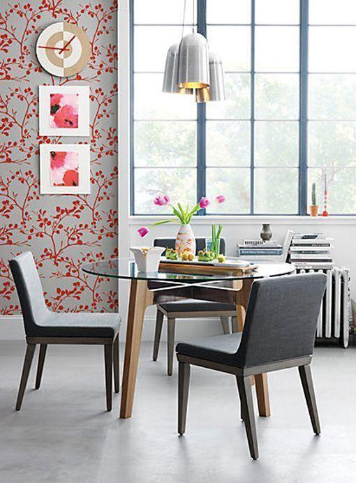 Buscas una mesa de comedor perfecta te mostramos seis for Decorar una mesa de comedor de cristal