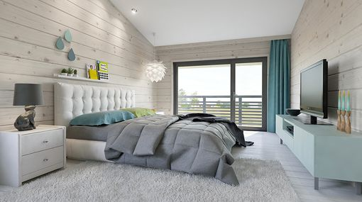 Dormitorio principal con vestidor y cuarto de ba o privado for Decoracion de dormitorio principal