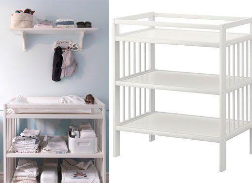 Decorar el cuarto del bebé en azul y blanco