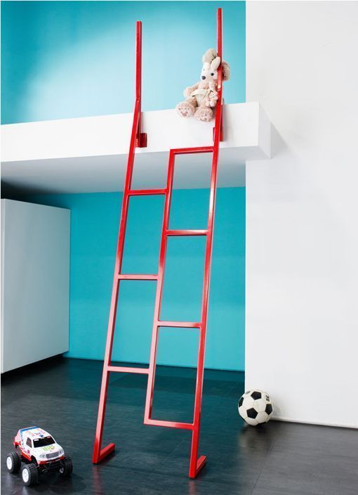 Escaleras para habitaciones infantiles y altillos