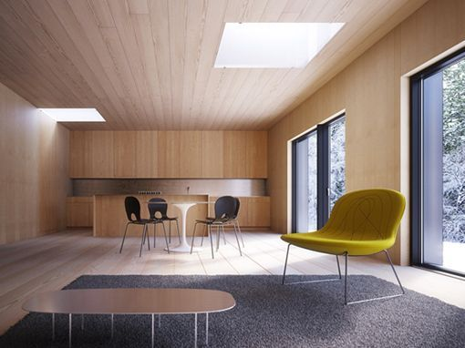 Casa Prefabricada Y Modular En Escandinavia
