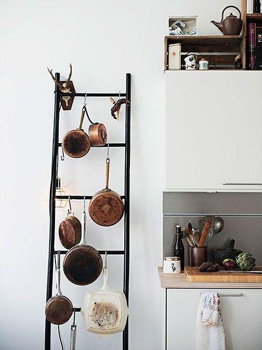 Reciclar una escalera de madera - Reciclaje de la madera ...