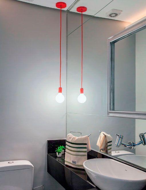 Apartamento de 90 metros con una decoraci n moderna y pr ctica - Bano de cortesia ...