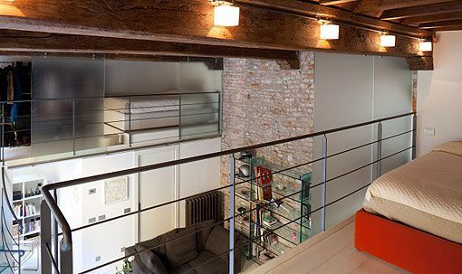 Mini loft con altillo